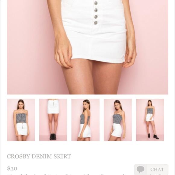 1d188945cb Brandy Melville Skirts | Crosby Denim Skirt | Poshmark